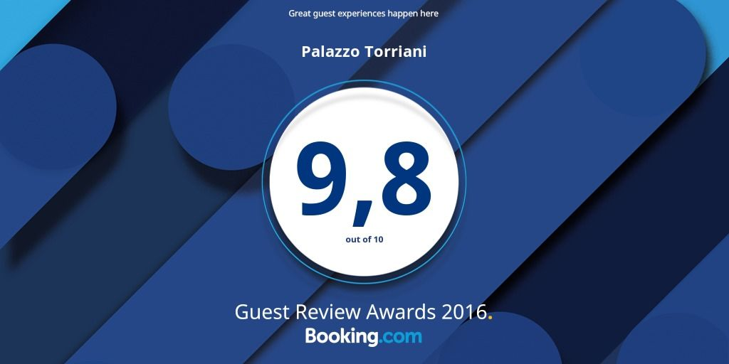 Booking Awards 2016 Palazzo Torriani